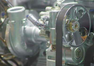 Non-traditional materials are essential for high performance, high efficiency engines.