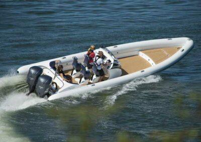 Scorpion twin-outboard RIB