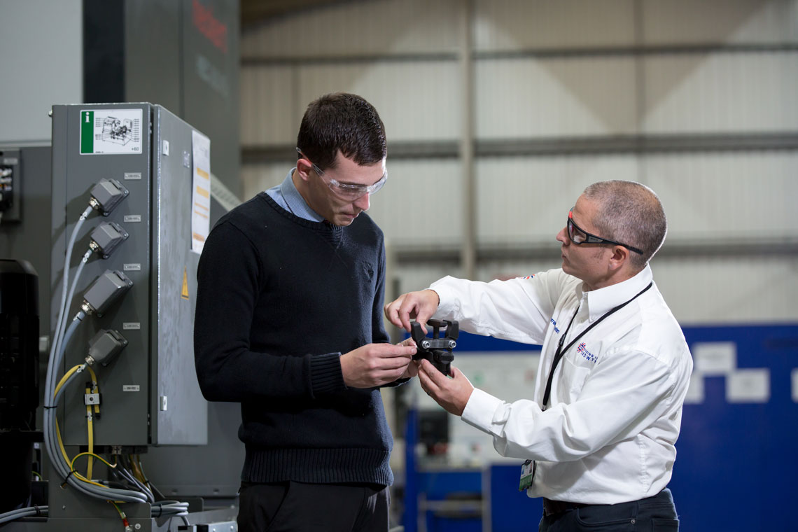 Sharing in Growth – Developing Highly Valued Manufacturing for this Generation and the Next